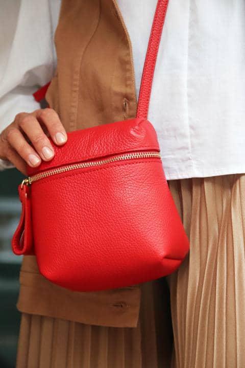 Rot, Rot, Rot – Tasche als Eyecatcher